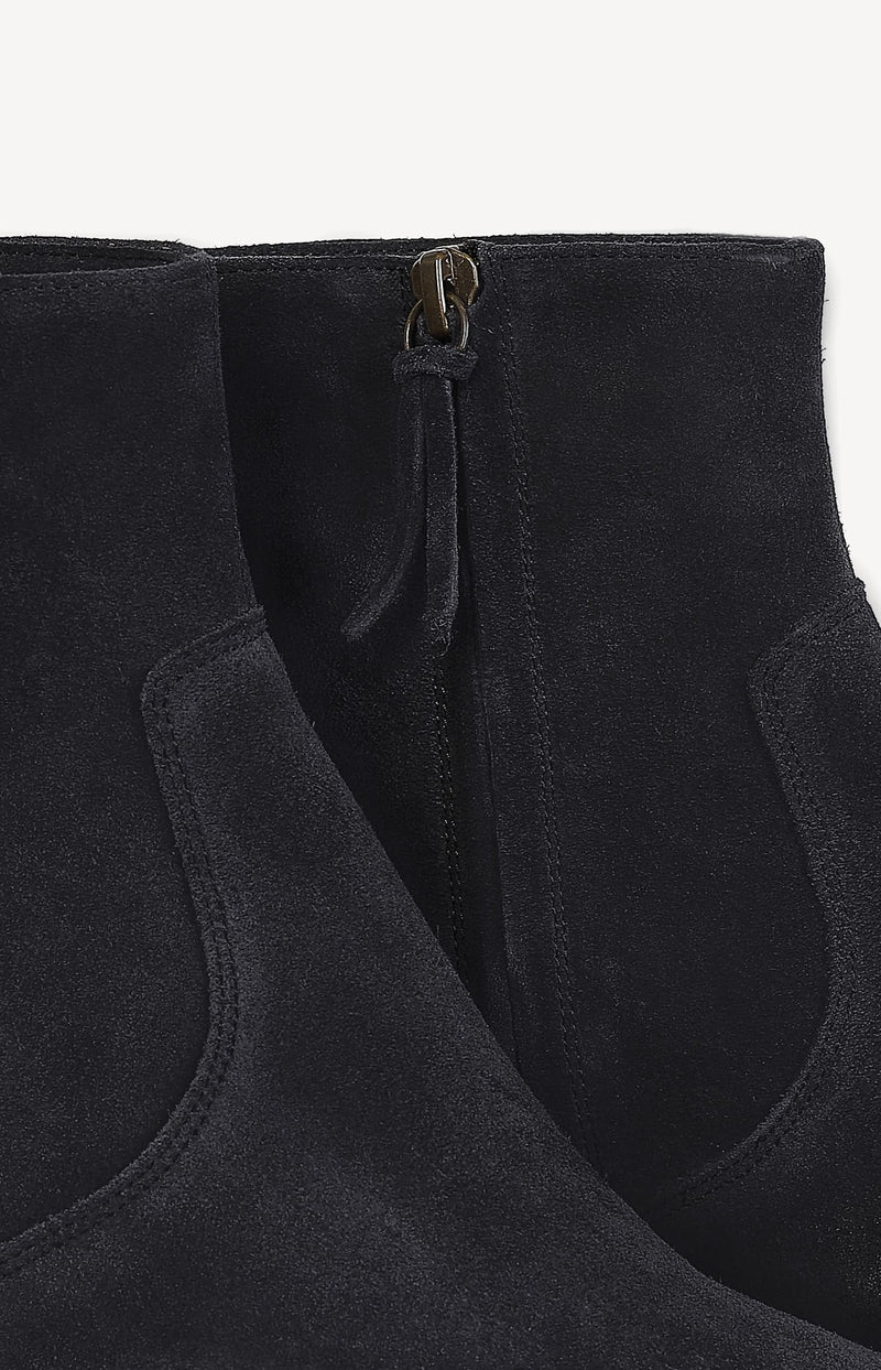 Boots Derst in Washed BlackIsabel Marant - Anita Hass