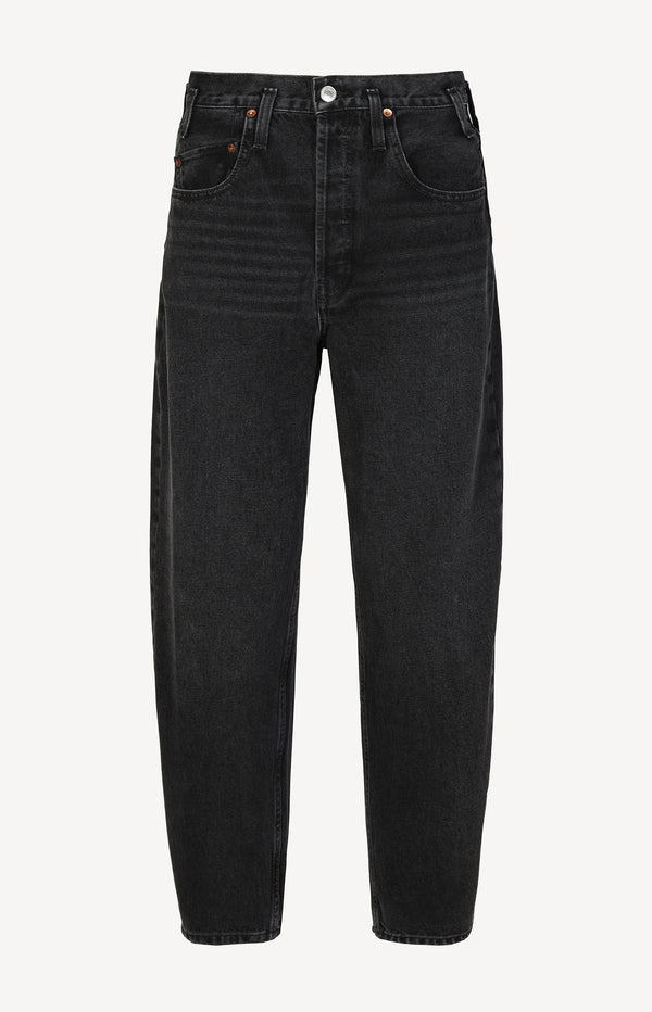 Jeans 80s Peg Leg in Black 7RE/DONE - Anita Hass