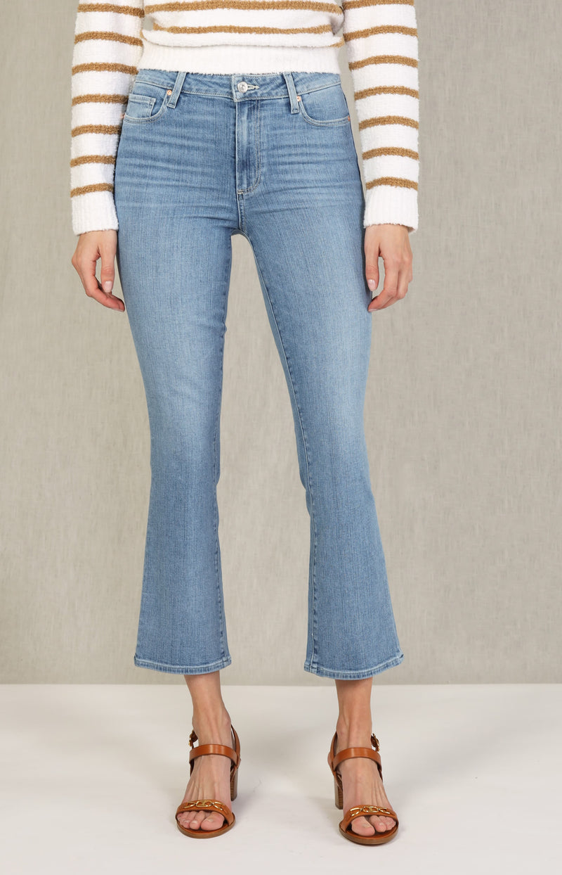 Jeans Colette Crop Flare in Jukebox DistressedPaige - Anita Hass