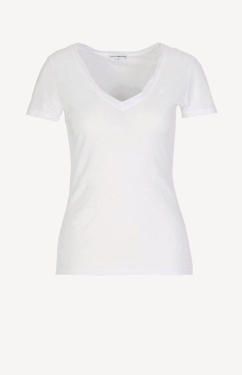 T-Shirt Casual in WeißJames Perse - Anita Hass