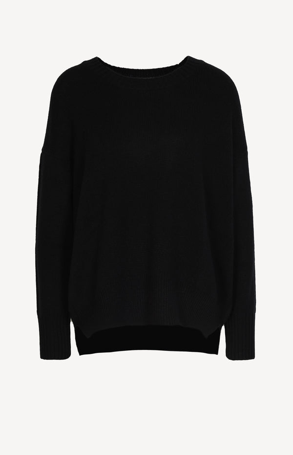 Oversized Pullover in SchwarzAllude - Anita Hass