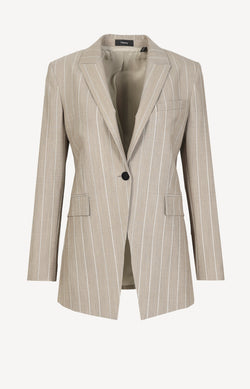 Blazer Etiennette in Taupe MultiTheory - Anita Hass