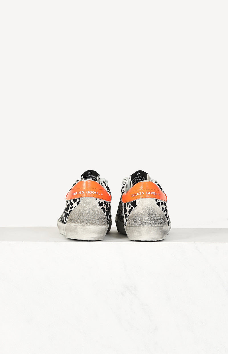 Sneaker Superstar in Gelb/LeopardGolden Goose - Anita Hass