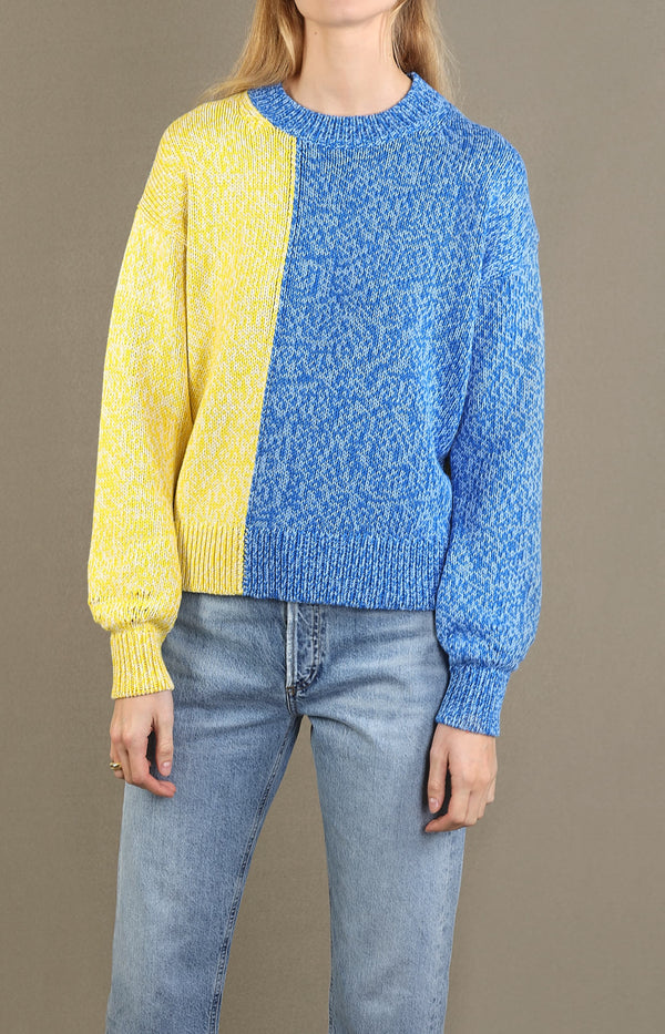 Pullover Movement in Sky Blue/Royal BlueChinti and Parker - Anita Hass