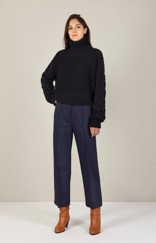 Pullover Mallow in Navyby Aylin Koenig - Anita Hass