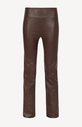 Lederhose High Waist Super in Dark ChocolateSPRWMN - Anita Hass