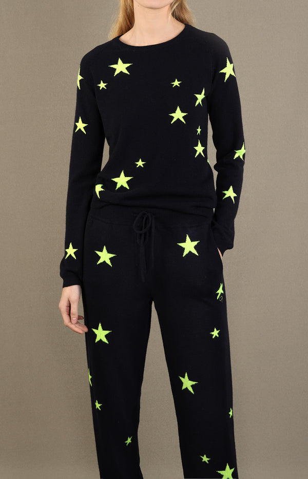 Kaschmirpullover Star in Navy/NeonChinti and Parker - Anita Hass