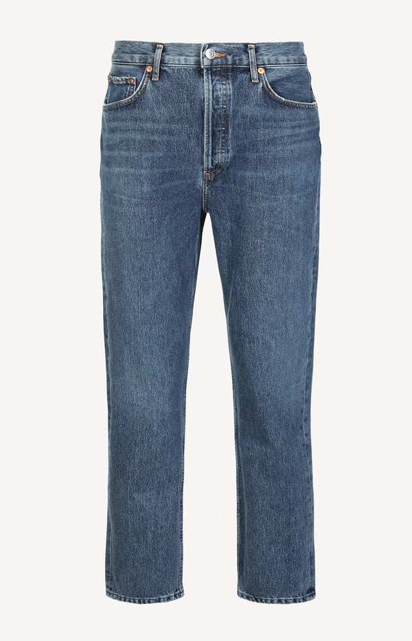 Jeans Riley High Rise in Air BlueAgolde - Anita Hass