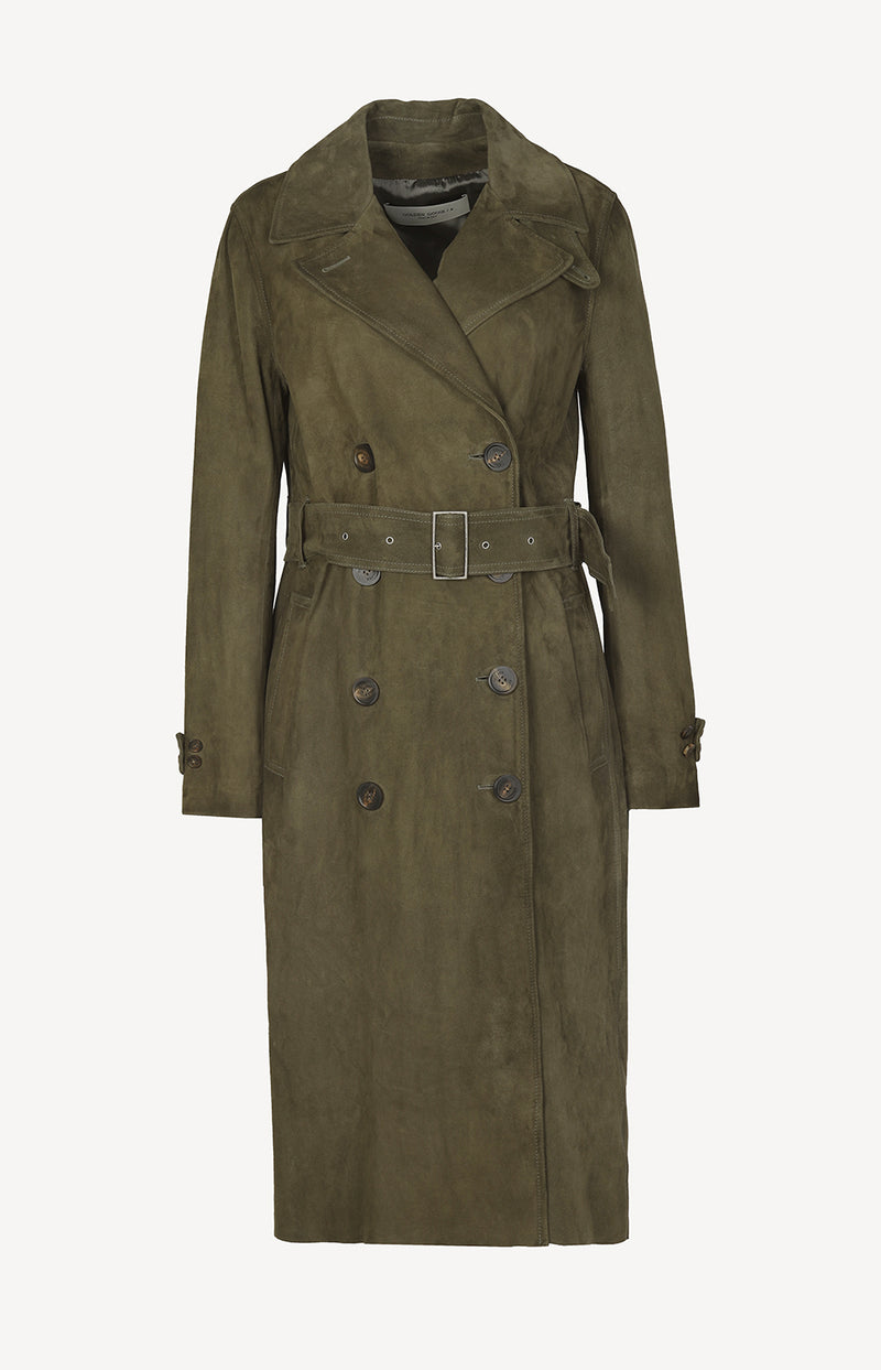 Trench Abigail in Army GreenGolden Goose - Anita Hass