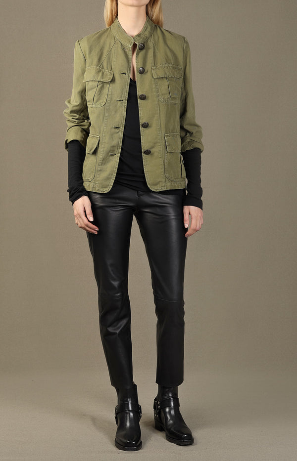 Jacke Cambre in Uniform GreenNili Lotan - Anita Hass