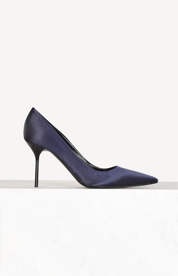 Pumps aus Satin in NachtblauTom Ford - Anita Hass
