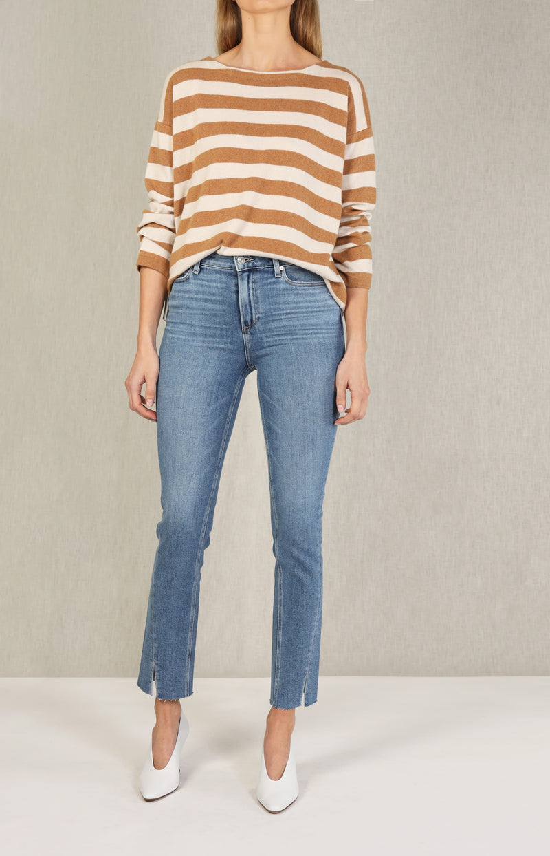 Jeans Hoxton Slim mit gedrehtem Saum in FlorenciaPaige - Anita Hass