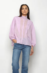 Bohemian Bluse in LilacForte Forte - Anita Hass