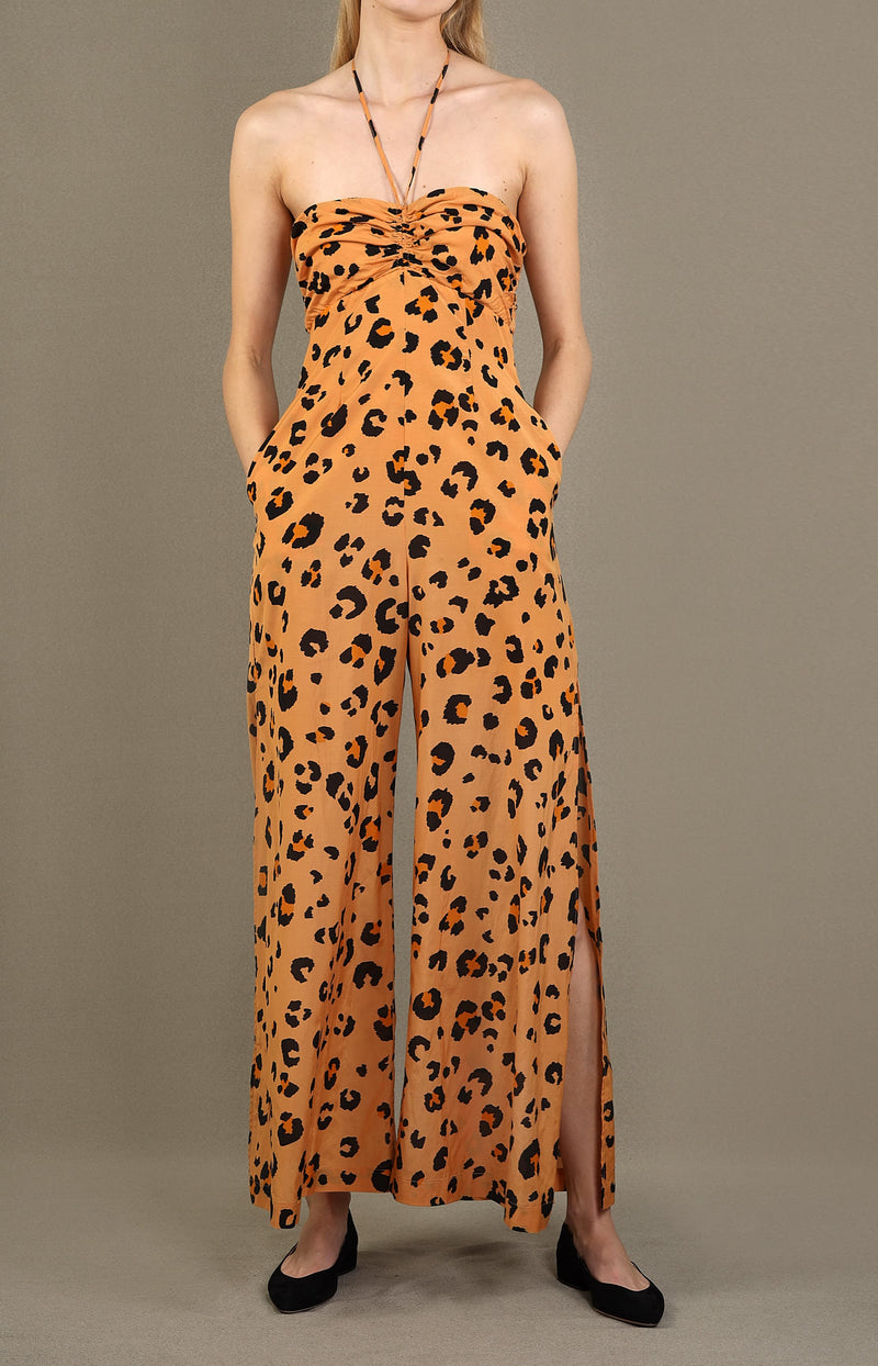 Jumpsuit Leilani in LeopardTigerlily - Anita Hass