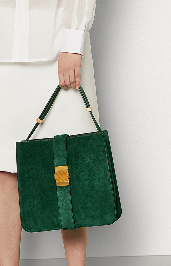 Shopper Marie in Emerald GreenBottega Veneta - Anita Hass