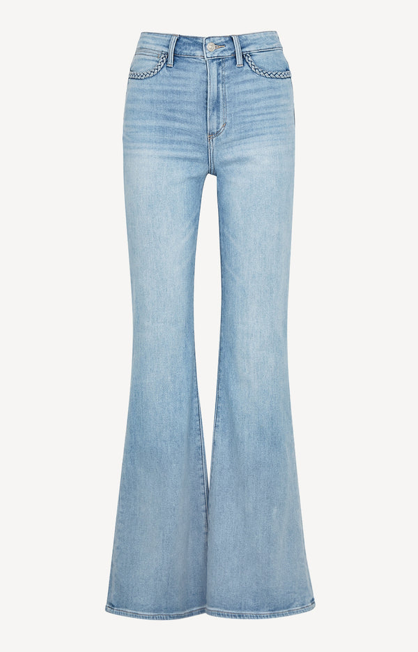 Jeans Genevieve Flare Braided in Joannis