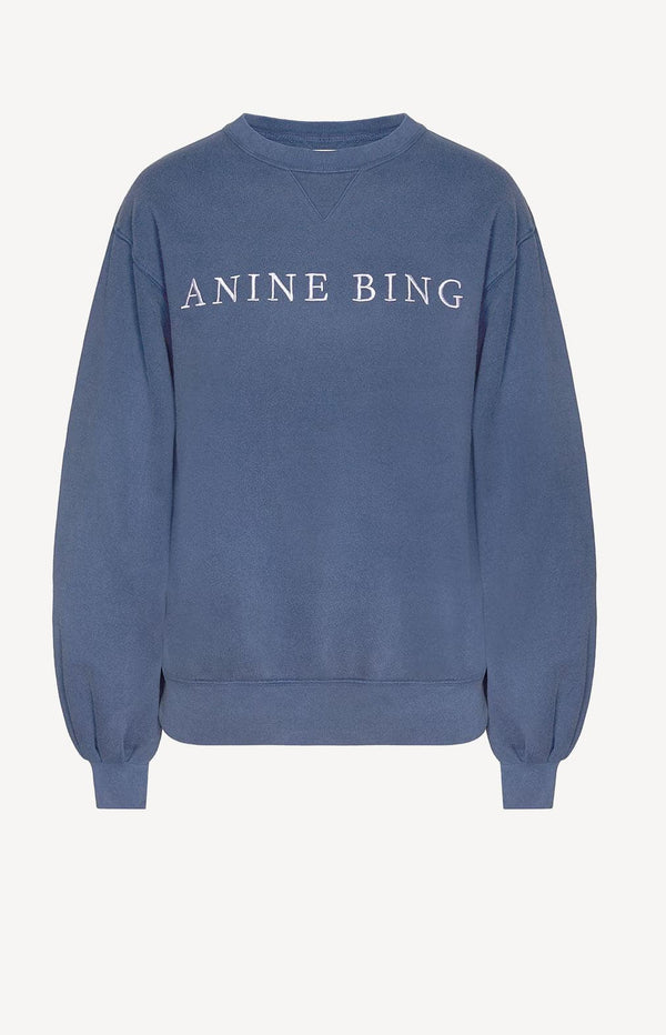 Sweatshirt Esme Dusty BlueAnine Bing - Anita Hass