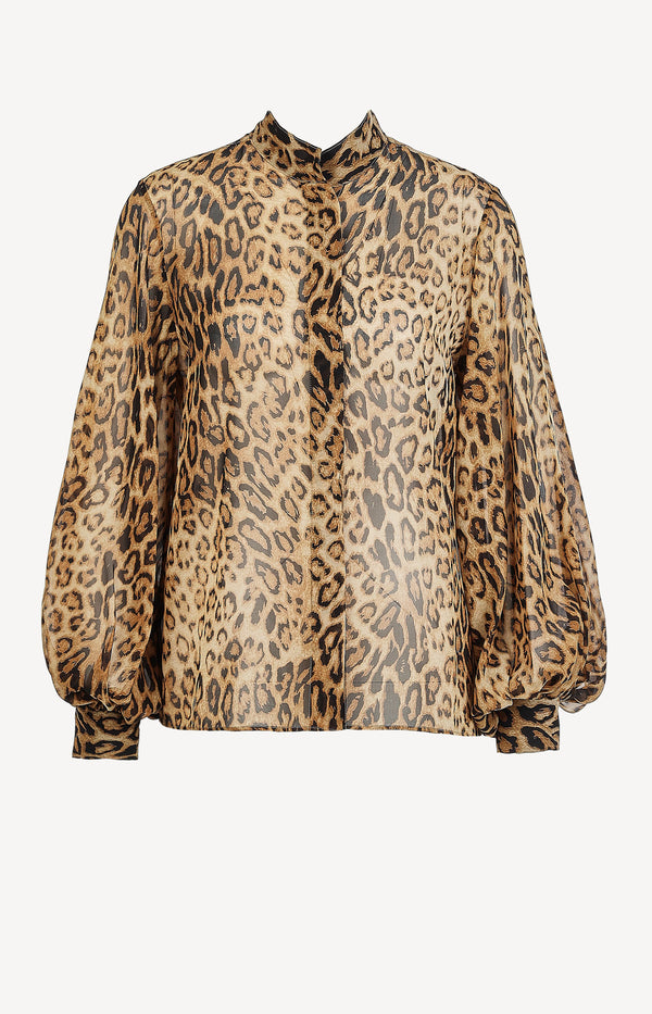 Bluse Evelyn LeopardNili Lotan - Anita Hass