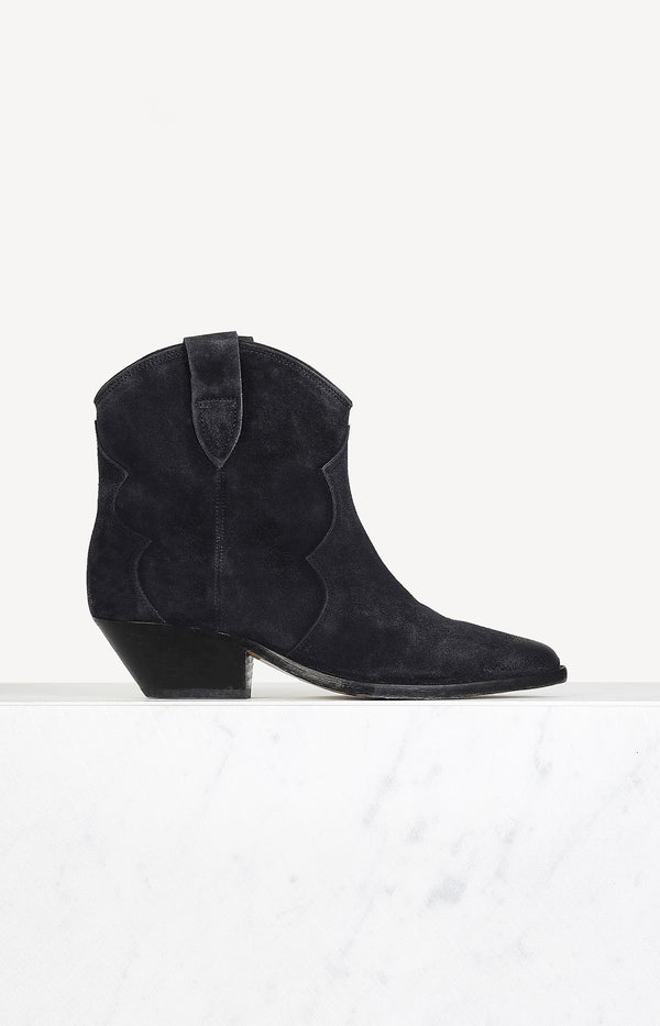 Boots Dewina in Faded BlackIsabel Marant - Anita Hass