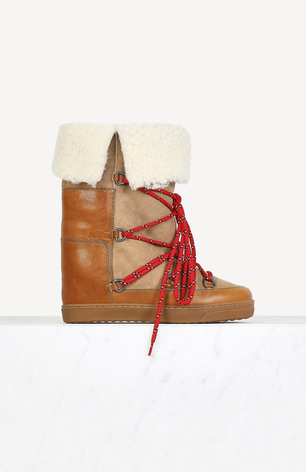Boots Nowly in NaturalIsabel Marant - Anita Hass