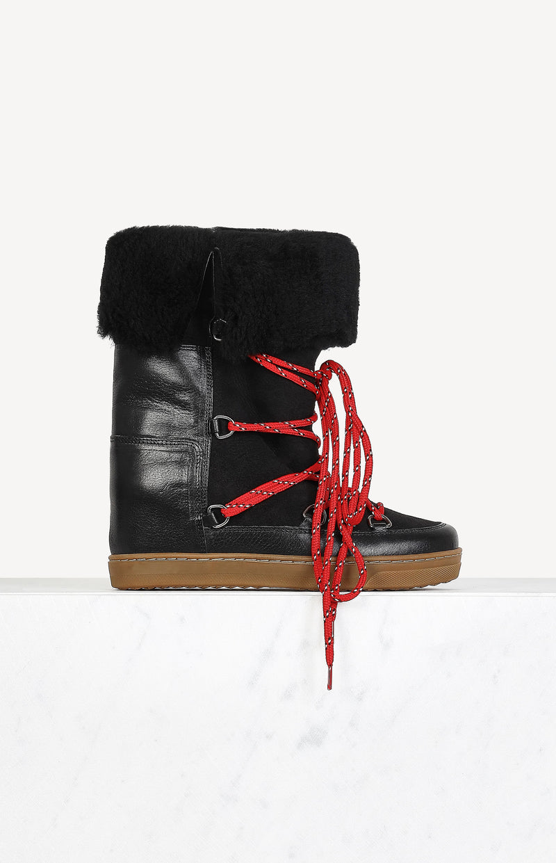 Boots Nowly in SchwarzIsabel Marant - Anita Hass