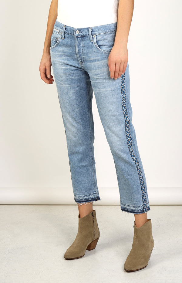 Jeans Emerson Crop Porto StripeCitizens of Humanity - Anita Hass