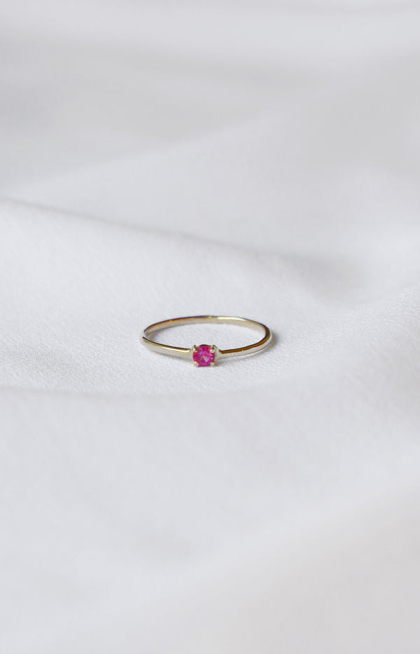 Ring B-Day October: Pink TourmalineMargova - Anita Hass