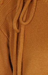 Pullover mit Flecht-Details in Canyon BrownSee by Chloé - Anita Hass