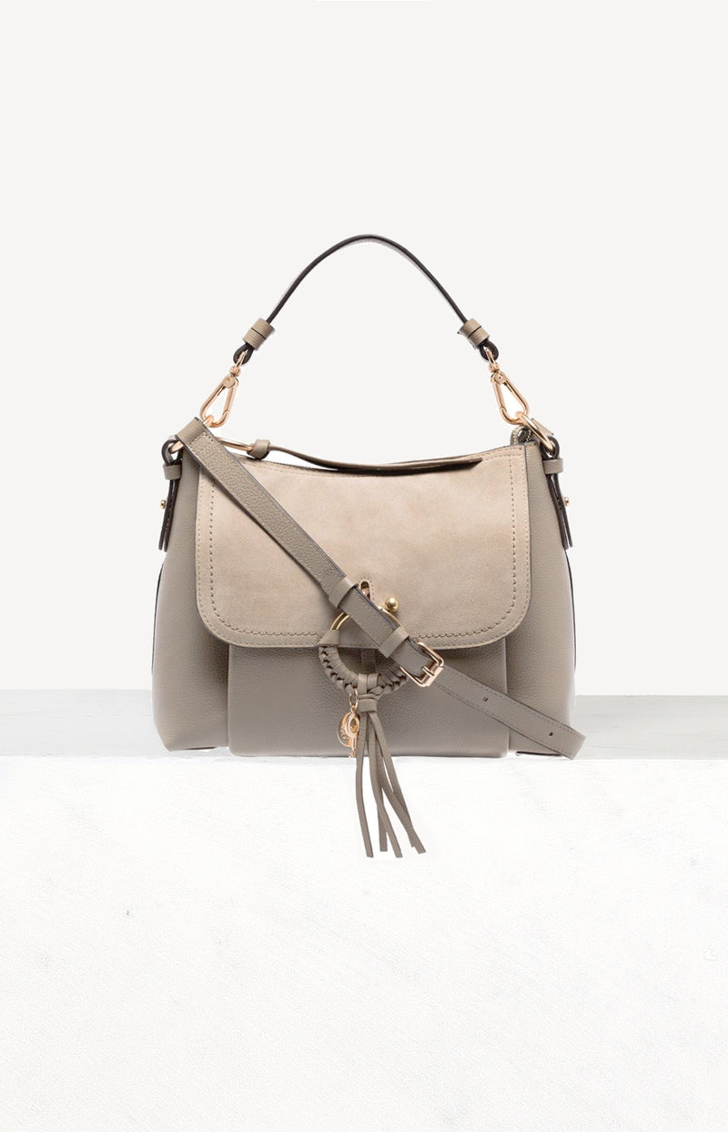 Tasche Joan Large in Motty GreySee by Chloé - Anita Hass