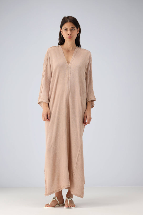 Kaftan Kulwa in Antique Rose