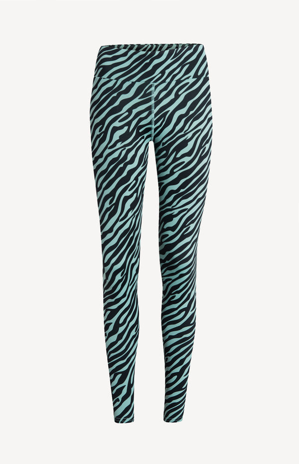 Leggings Zebra GreenHey Honey - Anita Hass