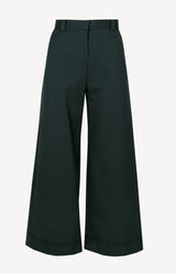 Ausgestellte Hose in Lightless GreenSee by Chloé - Anita Hass
