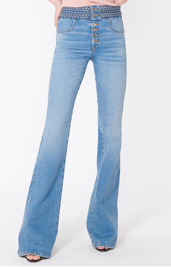 Jeans Beverly Braided Flare GrottoVeronica Beard - Anita Hass