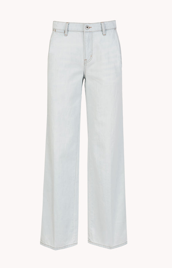 Wide Leg Jeans Carpenter HellblauVince - Anita Hass