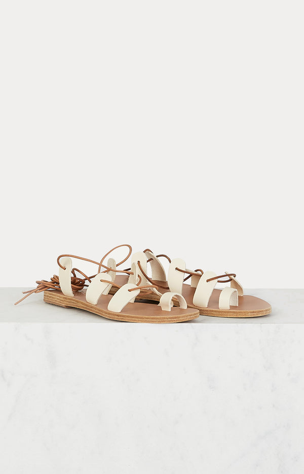 Sandale Alcyone Off WhiteAncient Greek Sandals - Anita Hass