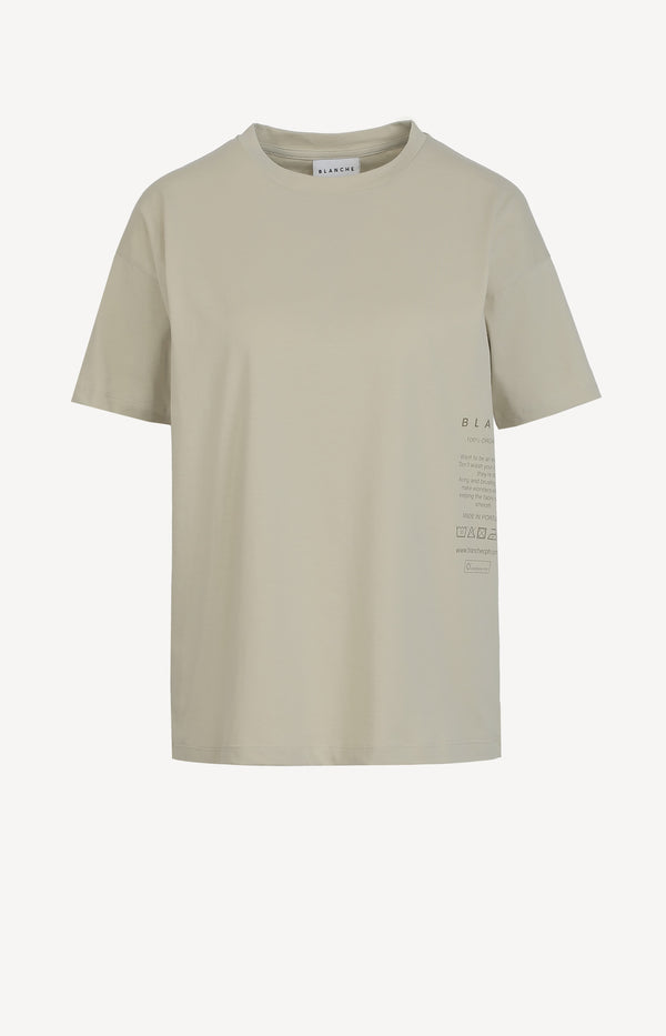 T-Shirt Main Care in Moss GreyBlanche - Anita Hass