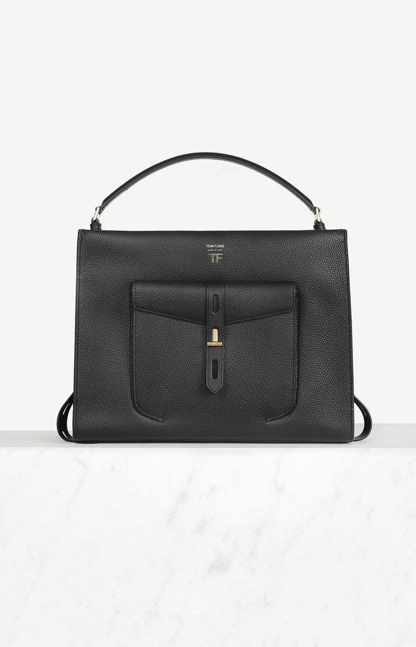 Eckige Day Bag in SchwarzTom Ford - Anita Hass