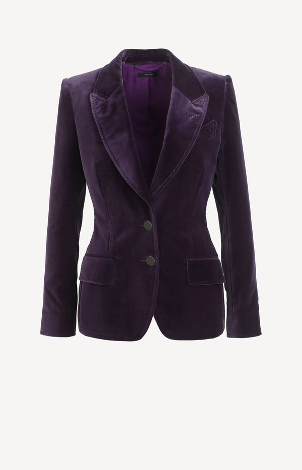 Samtblazer in Royal PurpleTom Ford - Anita Hass
