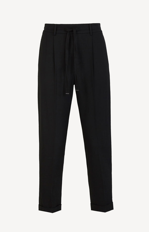 Hose Side Strap Jogger SchwarzVince - Anita Hass