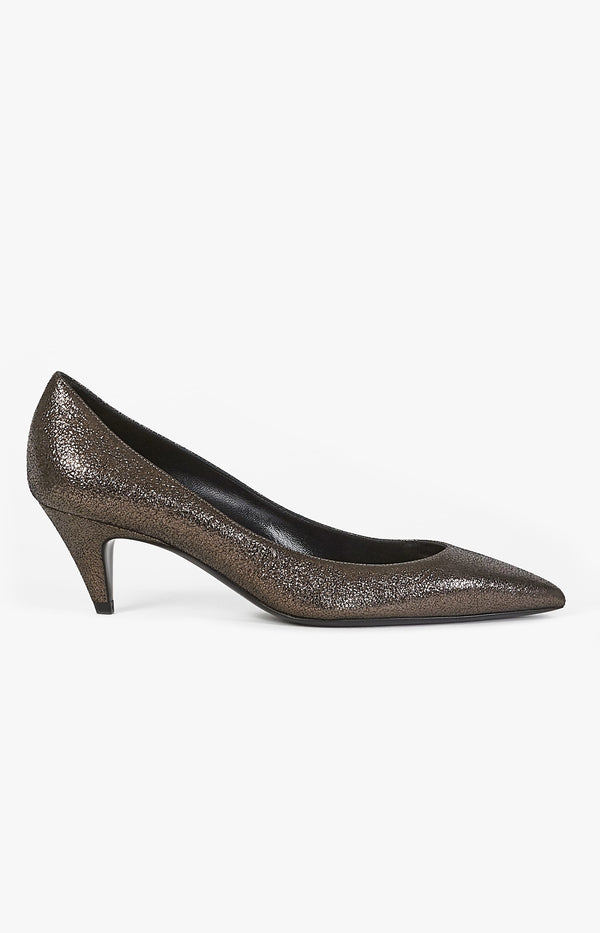 Pumps Charlotte 55 Gun MetalSaint Laurent - Anita Hass