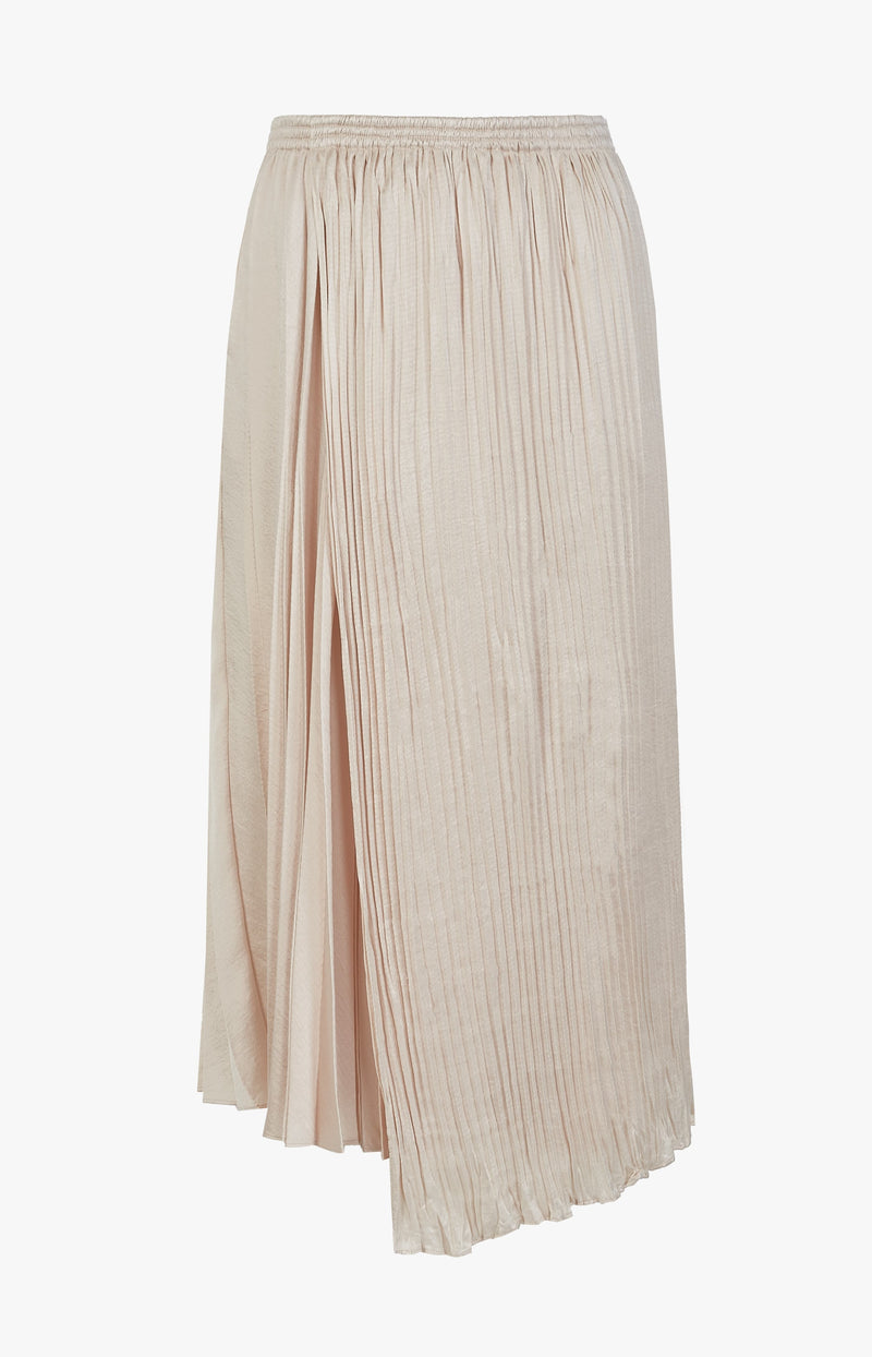 Satinrock Mixed Pleat Pale AlderVince - Anita Hass