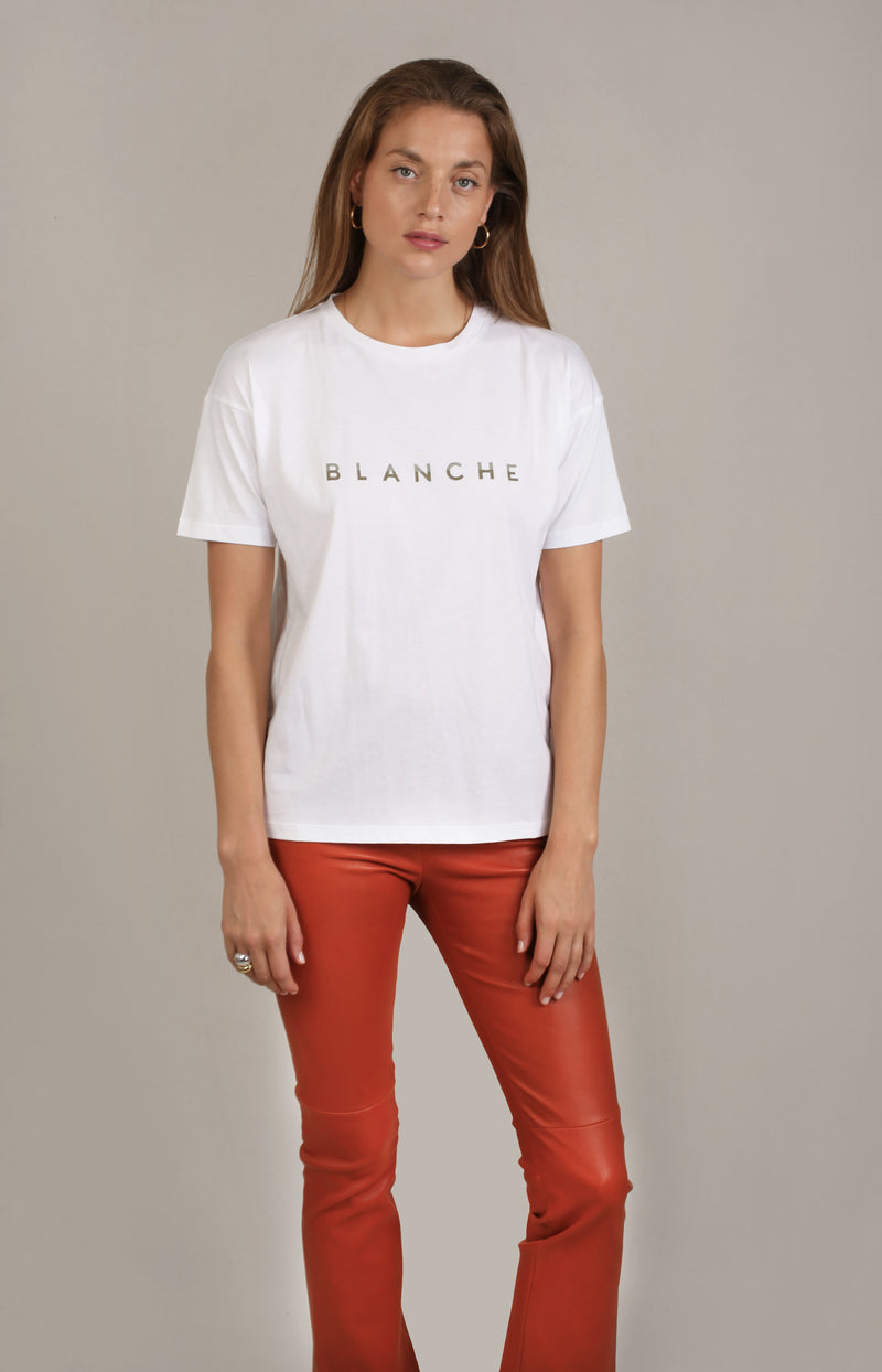 T-Shirt Main Tone in PlantBlanche - Anita Hass