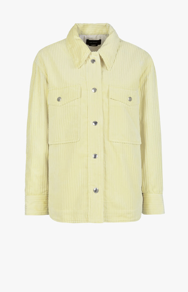 Kurzmantel Marvey Light YellowIsabel Marant - Anita Hass