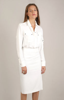 Utility Kleid in Off-WhiteTom Ford - Anita Hass