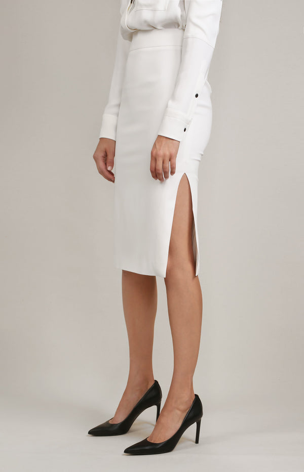 Utility Kleid in Off-White