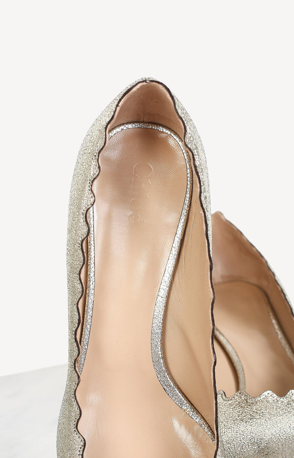 Pumps Lauren in Grey GlitterChloé - Anita Hass