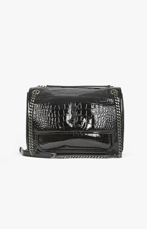 Tasche Niki Monogram Medium SchwarzSaint Laurent - Anita Hass