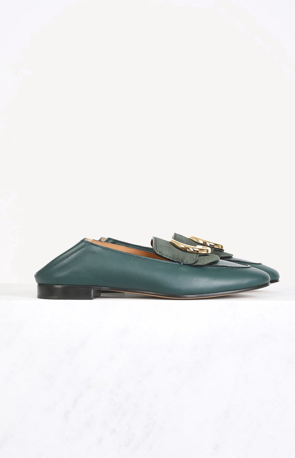 Loafer Chloé in British GreenChloé - Anita Hass
