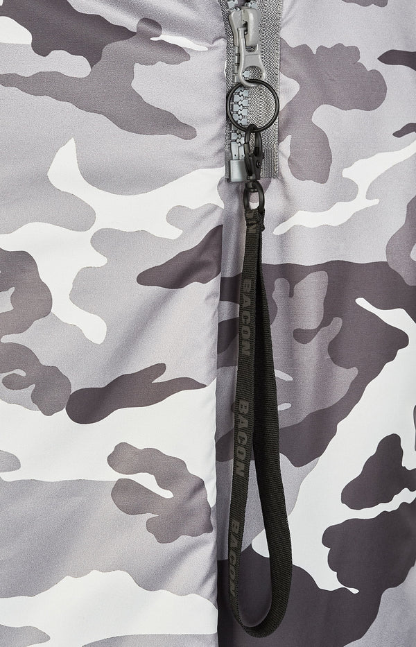 Mantel Big Blanket Camo GreyBacon - Anita Hass