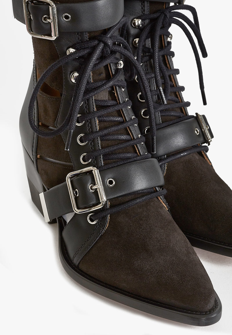 Ankle Boots Rylee Charcoal BlackChloé - Anita Hass